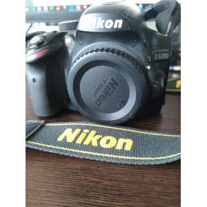 Фотоаппарат для фото и видео Nikon D3200 body, батарея, зарядное.